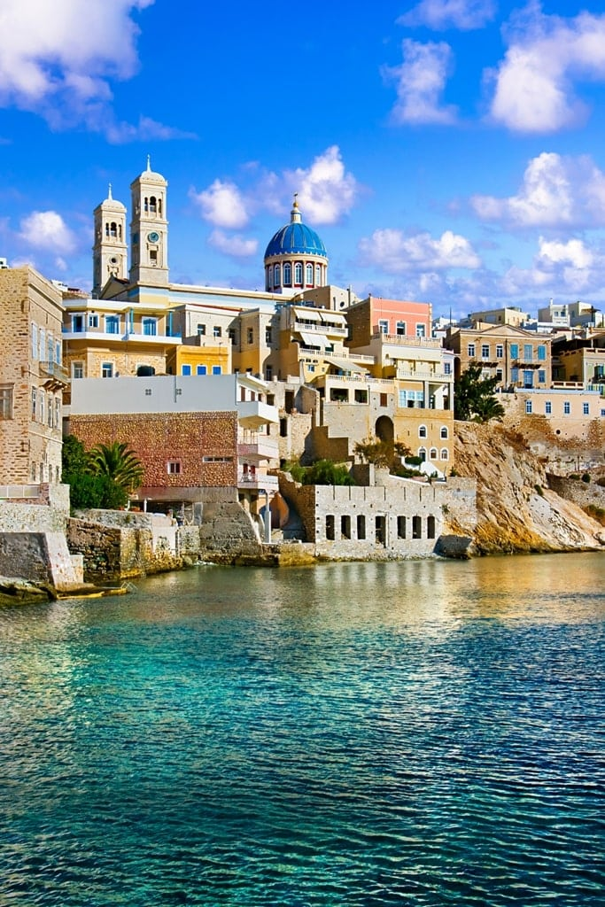 Ermoupolis in Syros is one of the most beautiful places in Greece