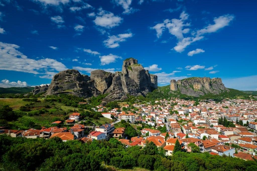 Kalambaka - Beautiful Towns in Greece