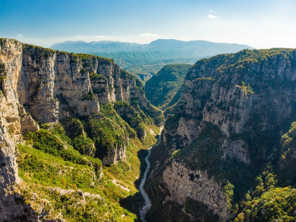 Vikos Gorge - Impressive Landscapes in Greece
