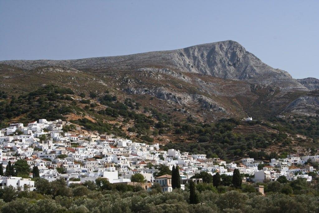 Filoti Village and mount Zas - Naxos Hiking