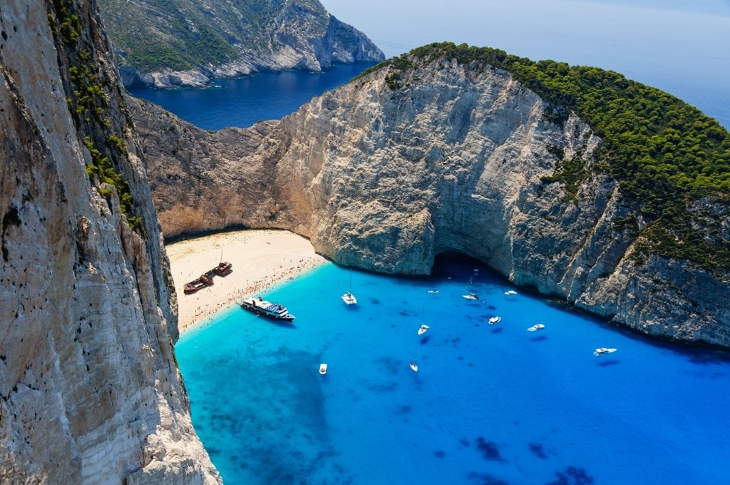 Zante Island part of the Ionian Group of Greek Islands