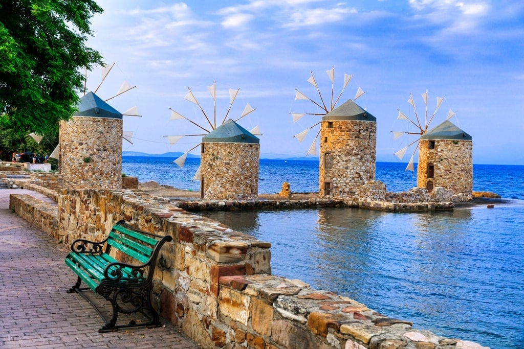 Chios belongs to the North Aegean Islands in Greece