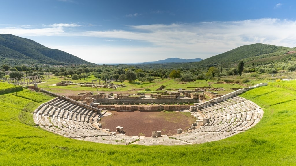 Ancient Messene - historical places in Greece