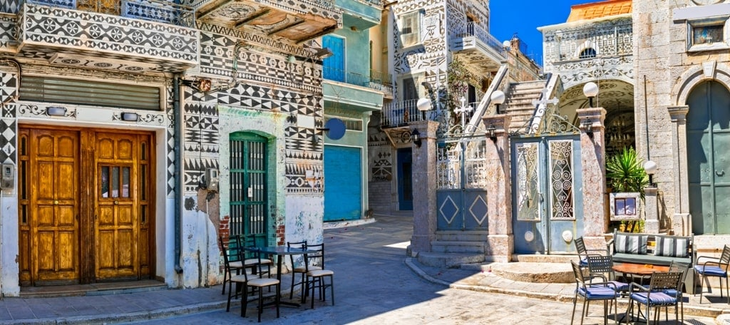 Pyrgi Village, Chios - beautiful villages in Greece
