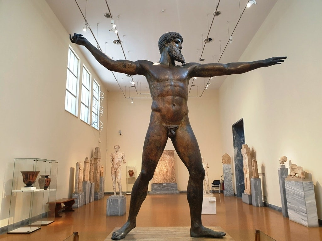 Artemision Bronze - Best Greek Statues