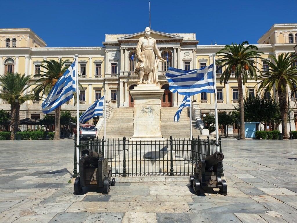 Syros - Greek Islands to visit in winter