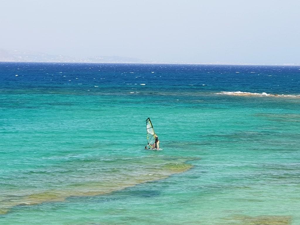 Surf in Naxos Greece