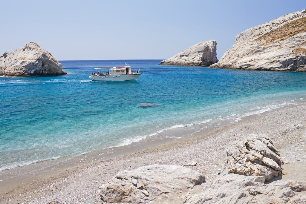 Katergo Beach in Folegandros
