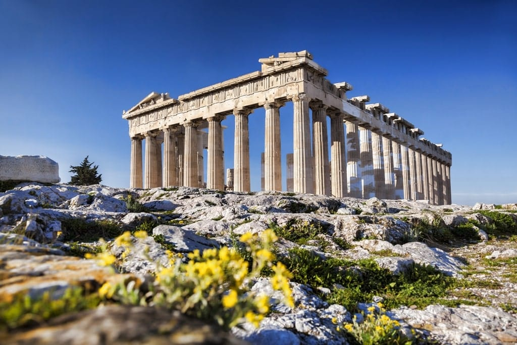 Greece in Spring - Acropolis Athens