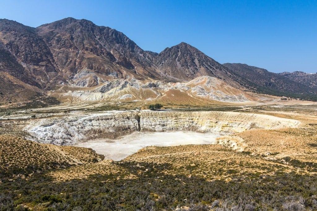 Active Volcano in Nisyros Island - Volcanoes in Greece