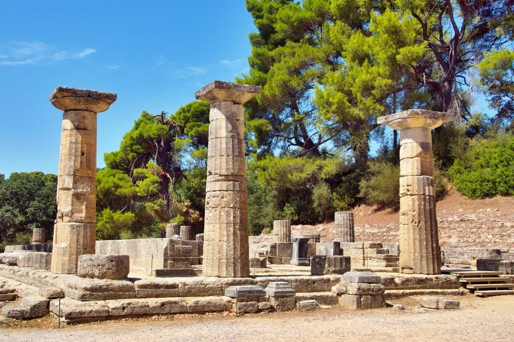 Temple of Hera, Olympia - Temples of Ancient Greece