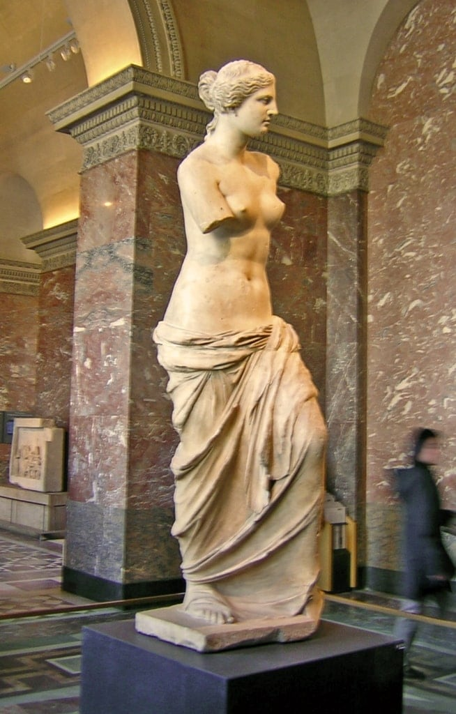Aphrodite of Milos - famous Greek Statues