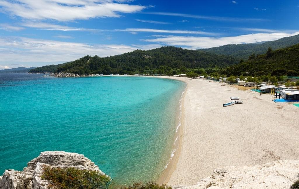 Armenistis Beach, Halkidi - most beautiful beaches in Mainland Greeceki