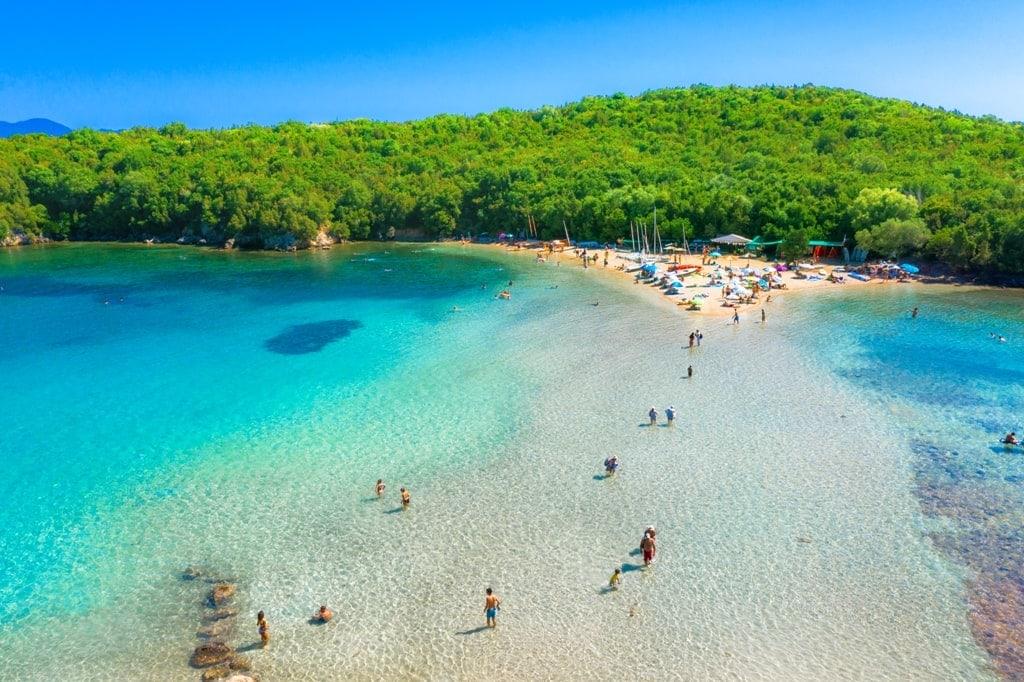 Bella Vraka Beach, Syvota - Mainland Greece beaches