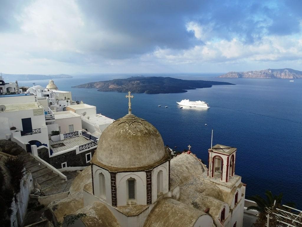 Santorini in Greece - Best Greek Islands to visit in winter