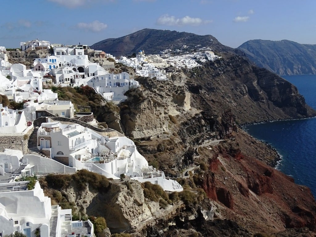 Santorini is one of the best islands to visit in winter