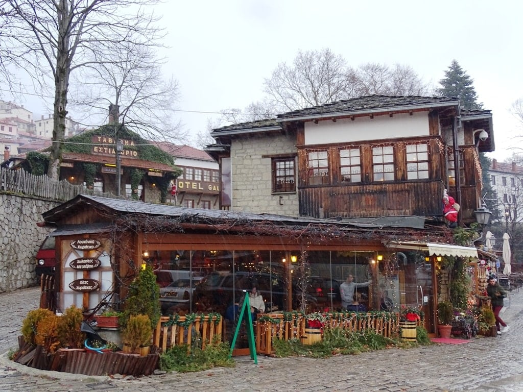 Metsovo village is a must see in winter