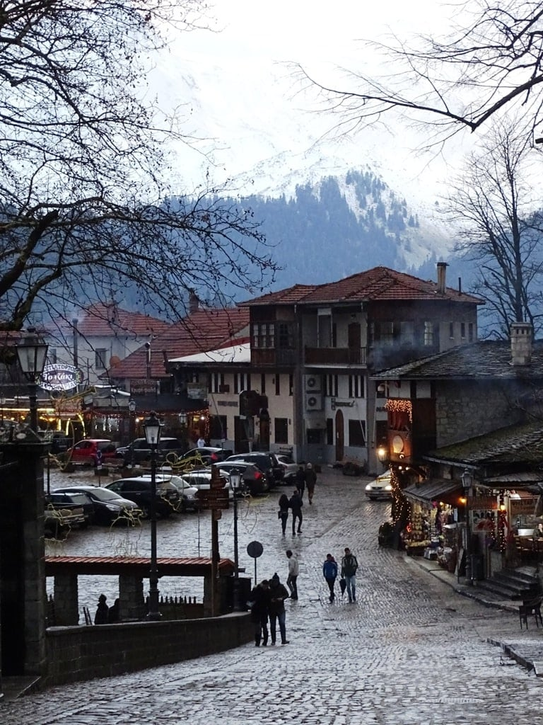 Metsovo in winter - popular greek destinations in winter