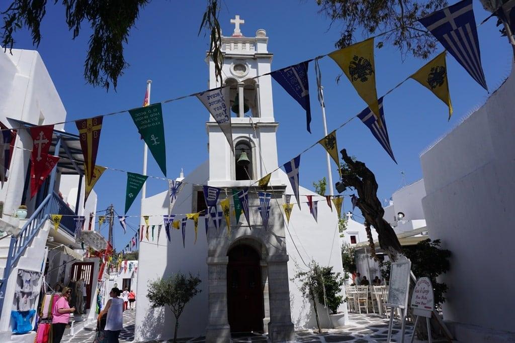 Mykonos - Greek islands to visit in May