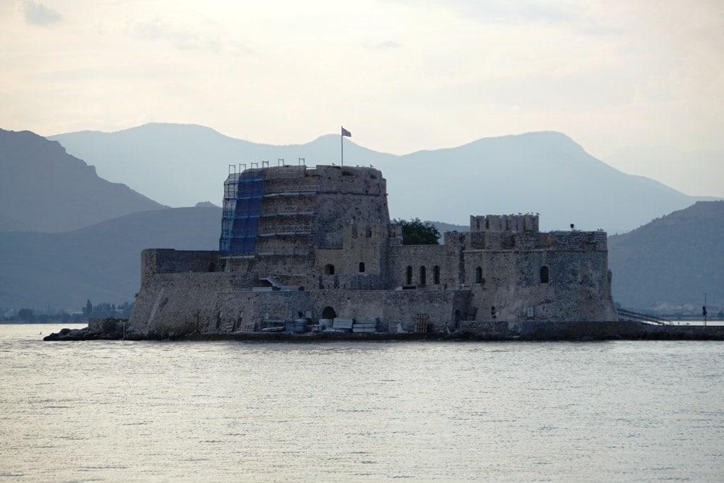 Bourtzi Castle - Peloponnese itinerary