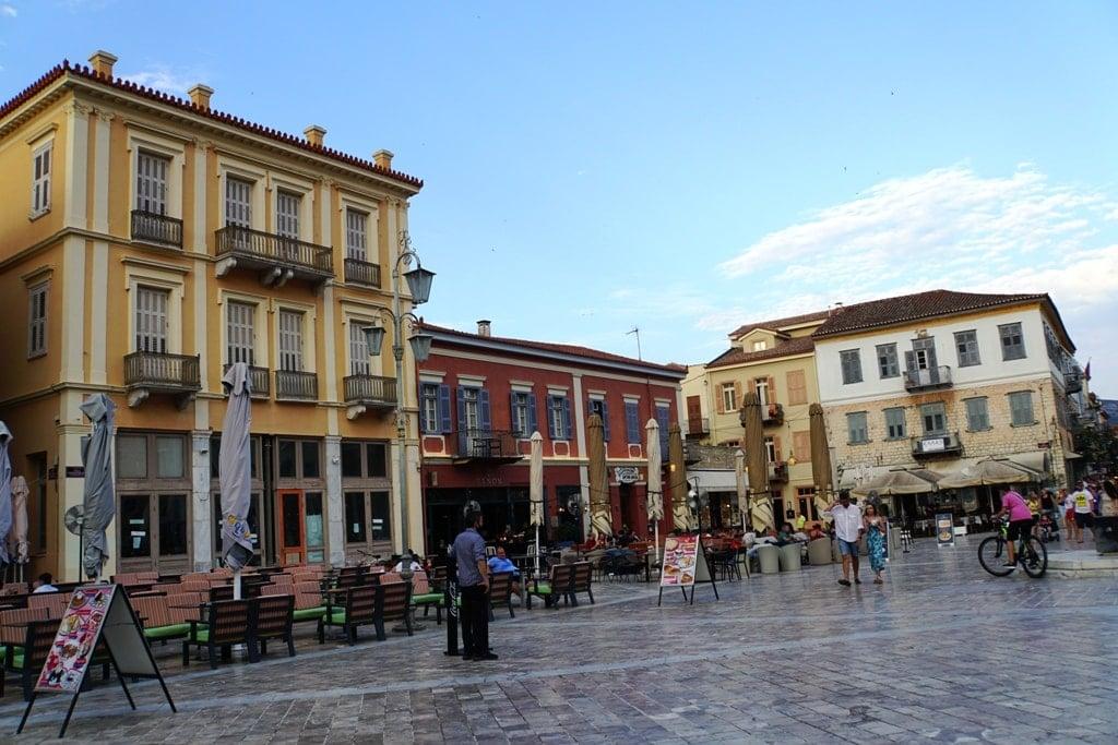 city of Nafplio - Peloponnese roadtrip