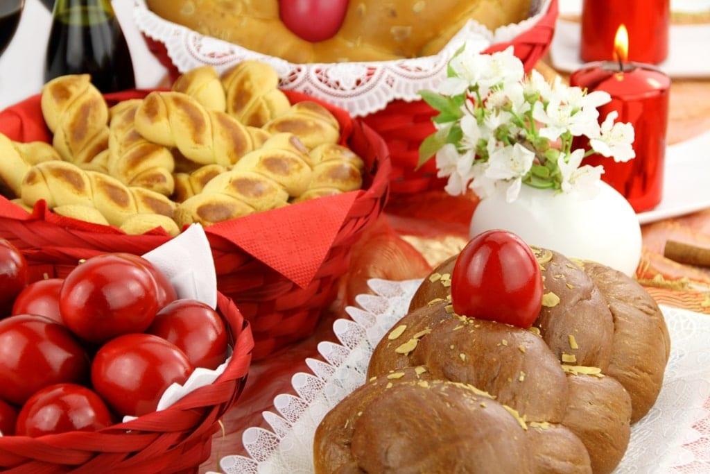 Greek Easter delicacies