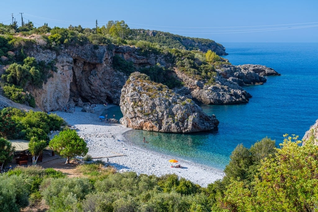 Foneas Beach, Mani - Best Beaches in Mainland Greece