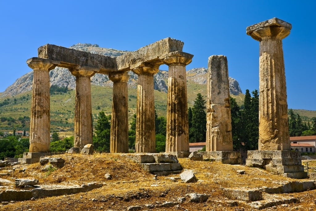 Temple of Apollo, Corinth - Ancient greek Temples