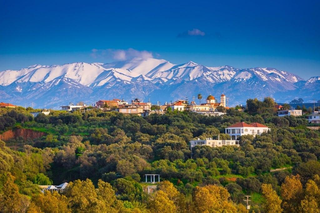 Crete in winter