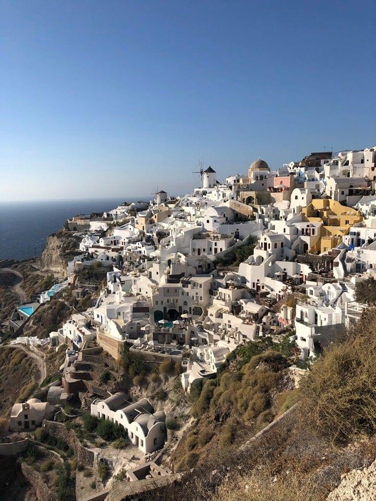 Santorini - best Greek islands to visit in May