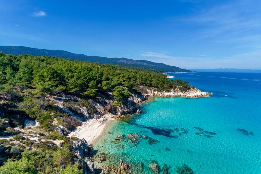 Kavourotrypes Beach, Halkidiki - Best Beaches in Mainland Greece