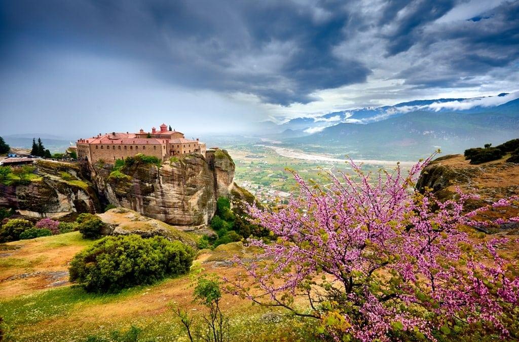 Seasons in Greecce / Spring in Meteora