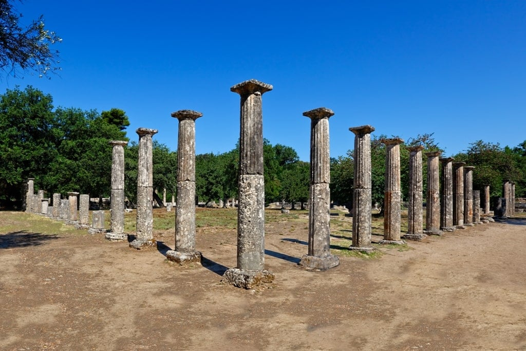 Palestra in Ancient Olympia