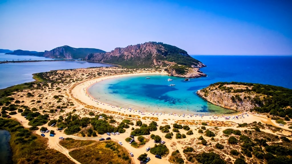 Voidokilia Beach in Mainland Greece - Best Beaches in Greece