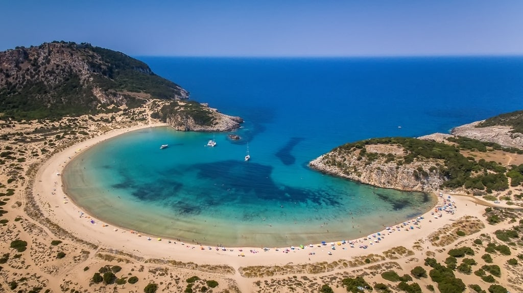 Voidokilia Beach, Messinia - Best Beaches in Mainland Greece
