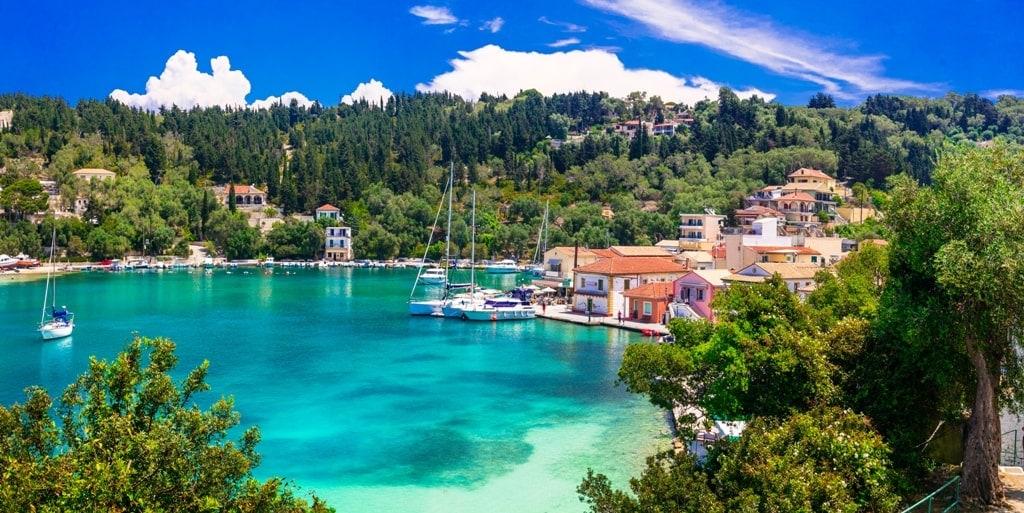 Lakka in Paxos - most beautiful Greek islands