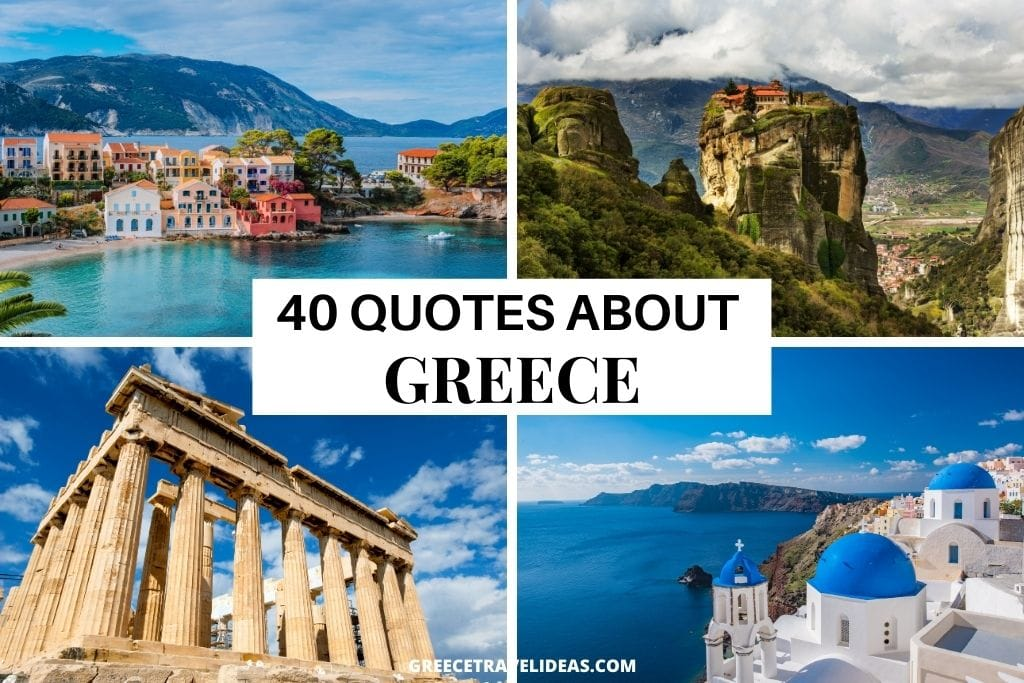 40 interesting Quotes about Greece