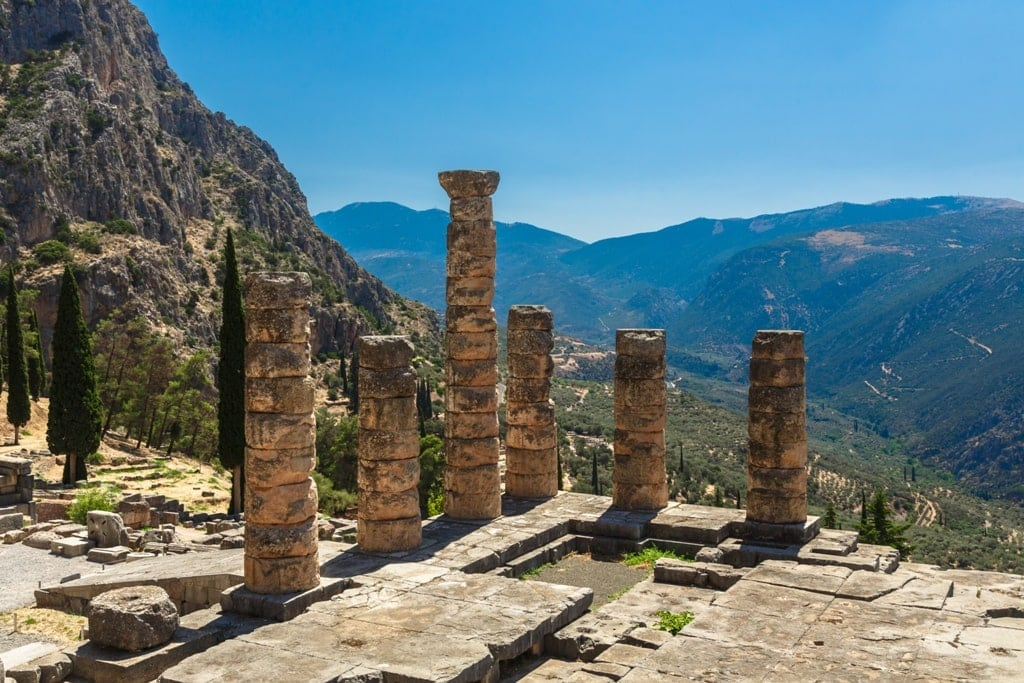 Temple of Apollo, Delphi - Famous Ancient Greek Temples
