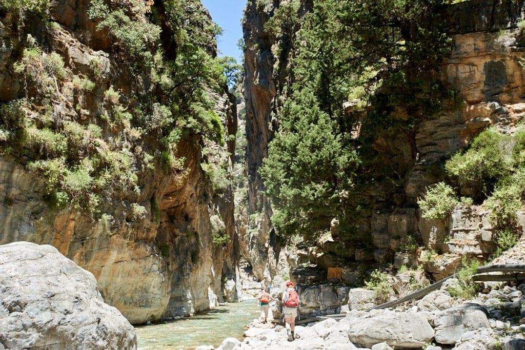 Samaria Gorge - Hiking in Greece