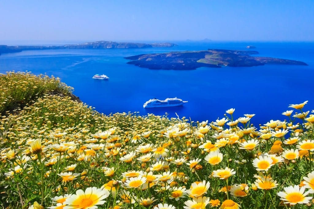 Santorini in Spring - Greece in Spring