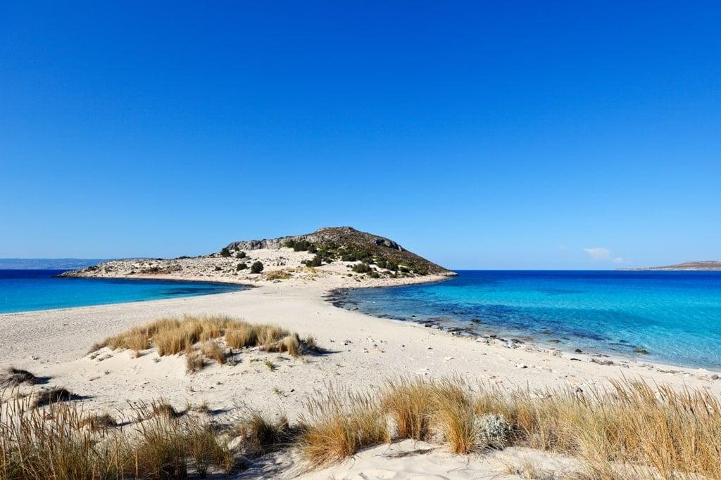 Simos Beach in Elafonisos