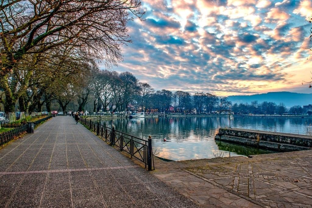 Ioannina - Greece in winter