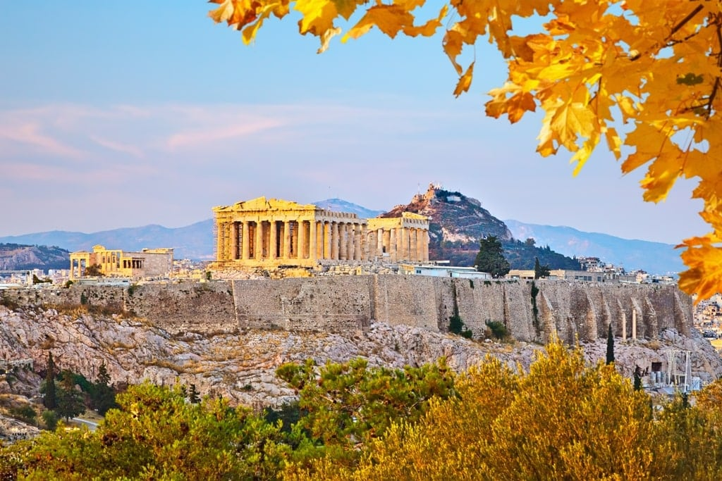 Athens - Greece in autumn