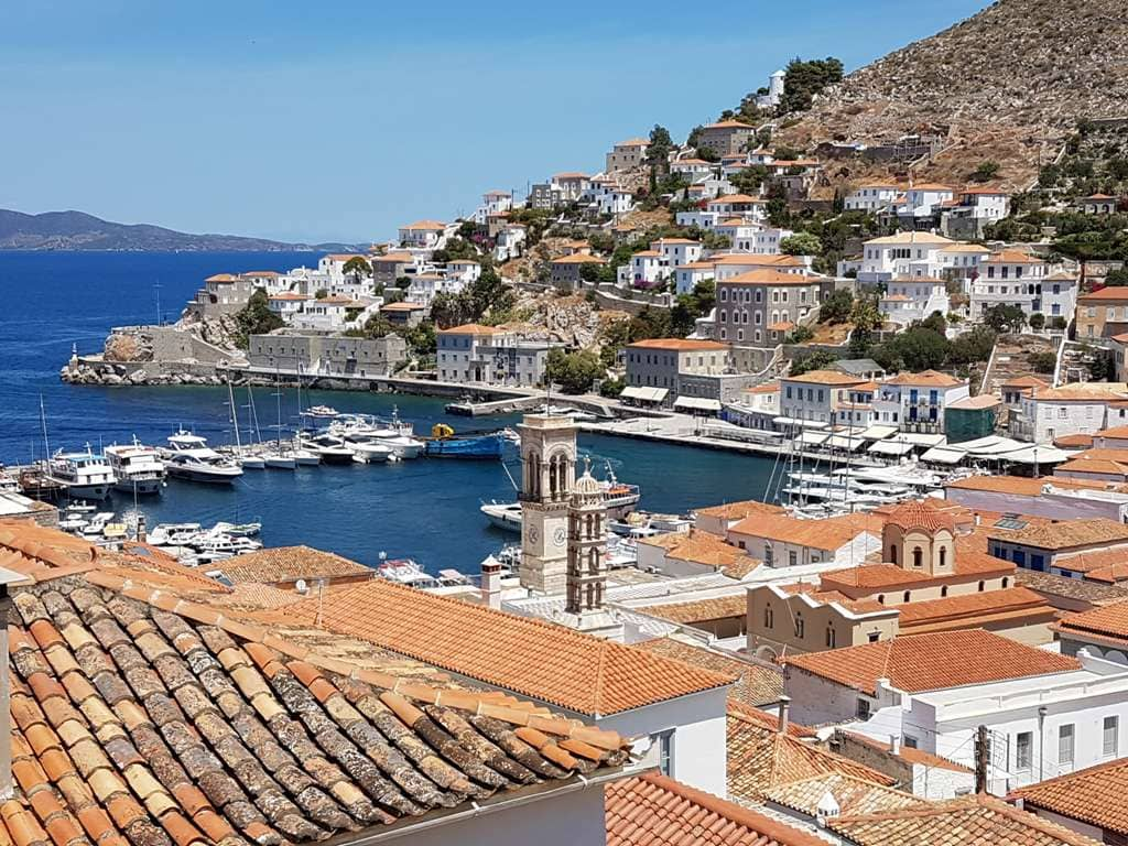 Hydra - best Greek islands to visit in May