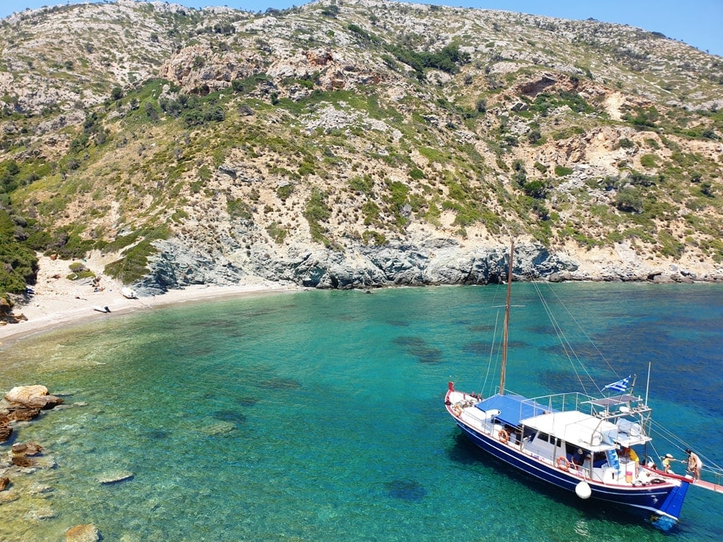 Marine Park in Alonissos - diving in Greece