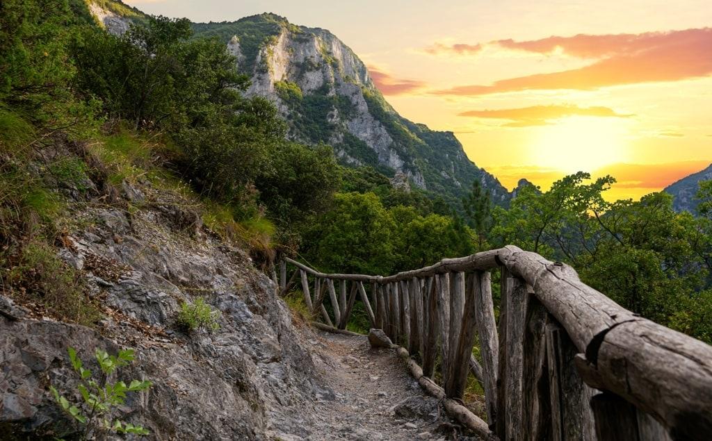 Hiking in Olympus Mountain Greece