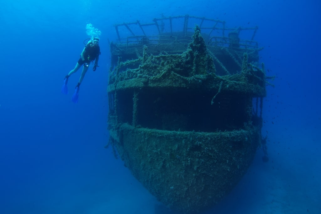 Diving wreck Marianna - Diving in Greece