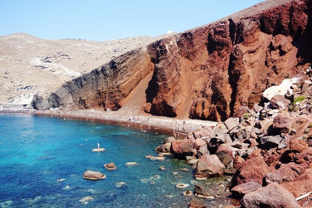 Red Beach - Santorini in 2 days
