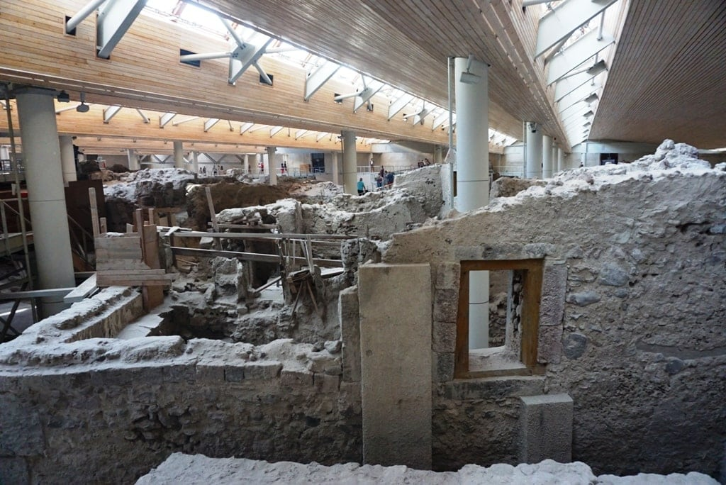 Archaeological Site of Akrotiri - Santorini itinerary