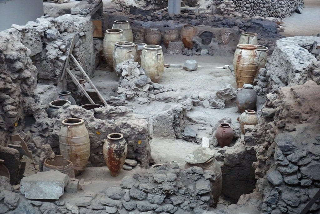 Archaeological Site of Akrotiri - two days in Santorini